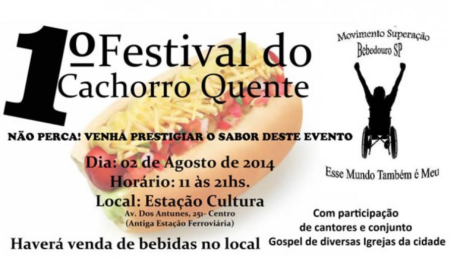 1 Festival De Cachorro Quente Na Estação Cultura